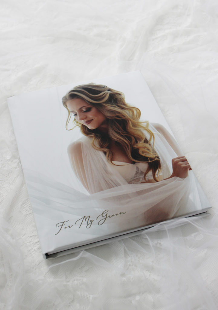 Boudoir Book With Photo Wrap Cover in Mate Finish