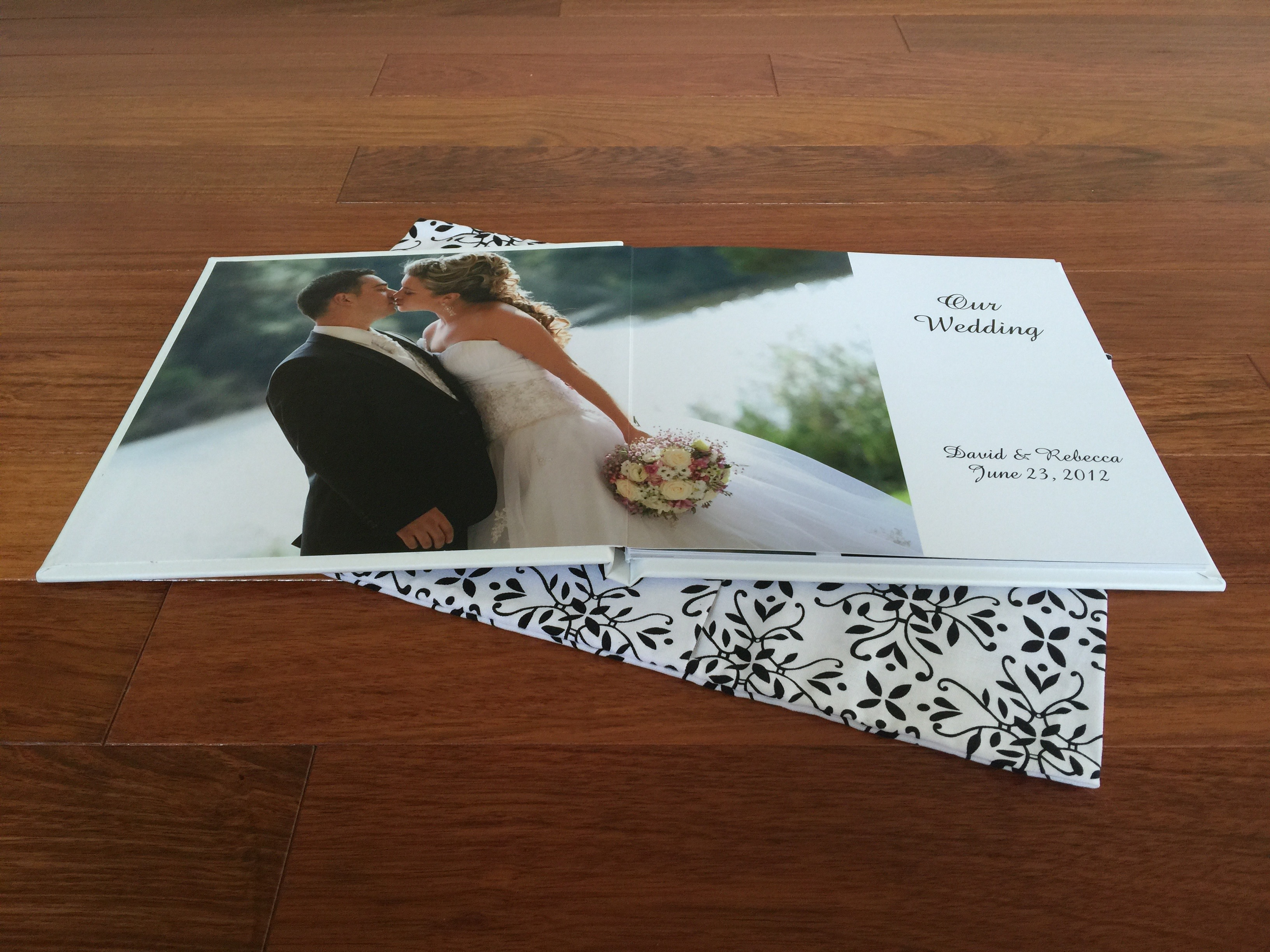 Lay Flat Wedding Album