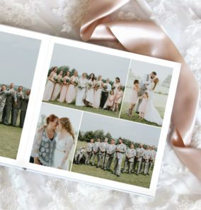 View options and gain inspiration to create a gorgeous wedding album. SEE MORE